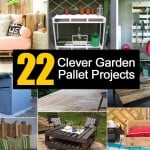 22 Clever Garden Pallet Projects
