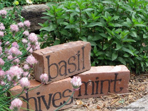 brick-plant-markers