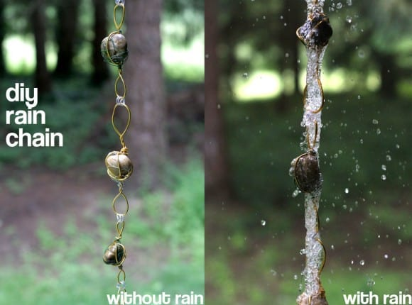 How To Make A Beautiful Rain Chain Diy-rain-chain-with-without-580x430