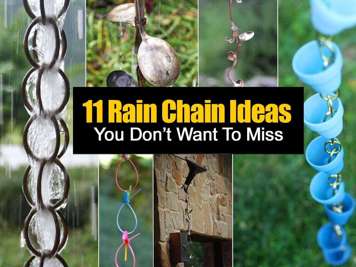 Rain Chains Ideas