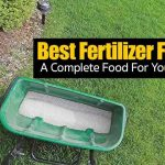 Complete lawn fertilizer in spread ready to apply