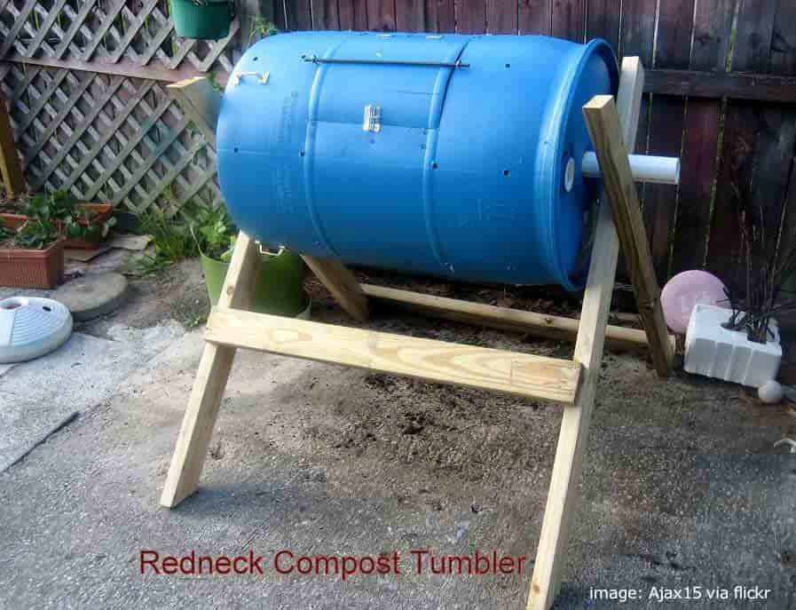 """Redneck"" Composting tumbler - simple, effective"