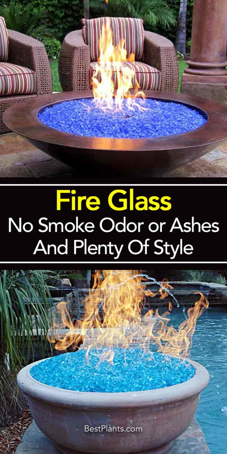 Fire glass - composed of small bits of basic tempered glass commonly used  in fire pits - Fire Glass - No Smoke Odor Or Ashes And Plenty Of Style