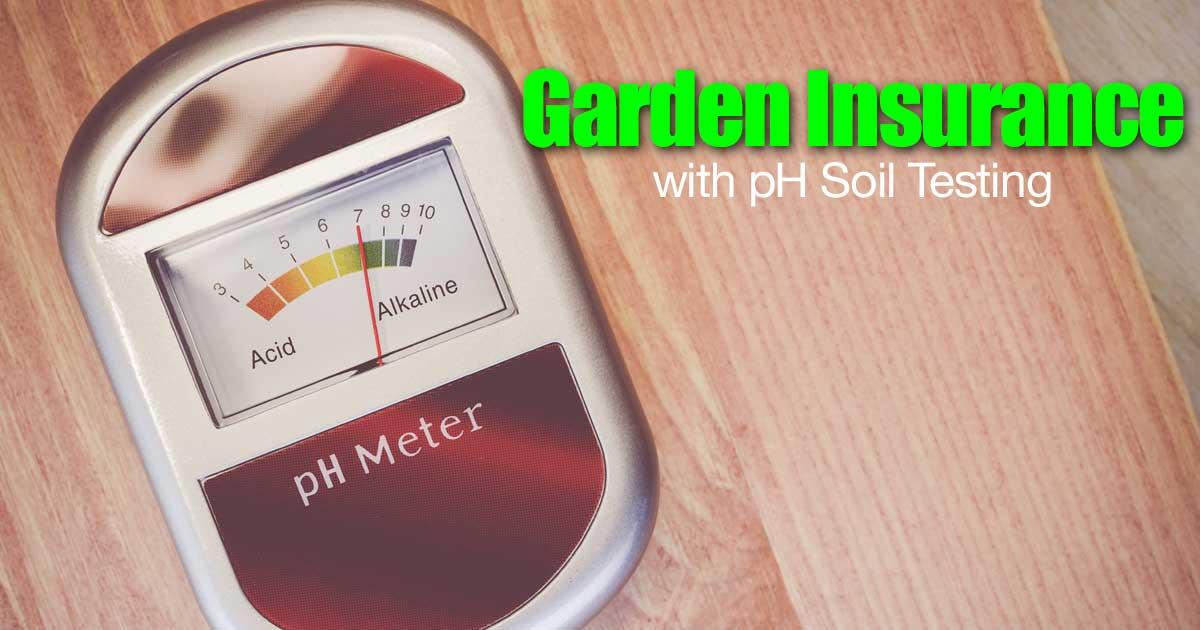 soil testing pH meter
